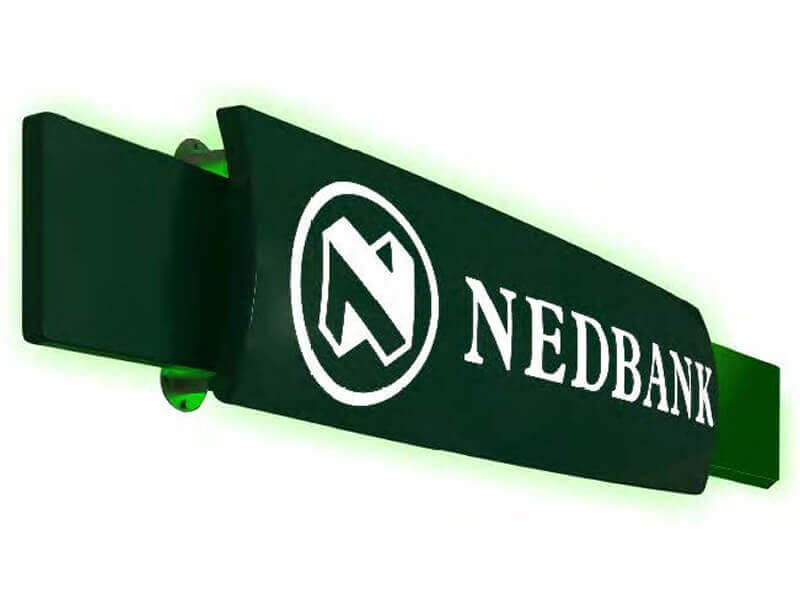 Global Manufacturing Solutions Nedbank Signage